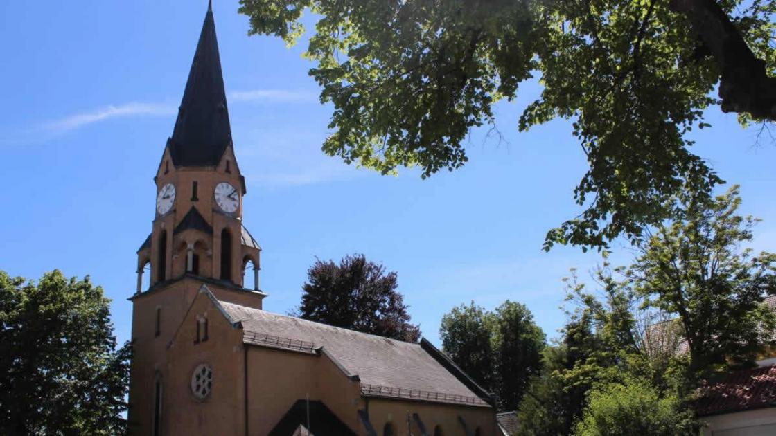 Die Kreuzkirche in Zwiesel